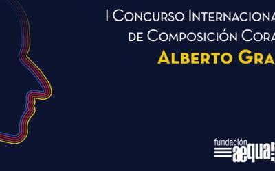 Estamos complacidos en anunciar el I Concurso Internacional de Composición Coral Alberto Grau