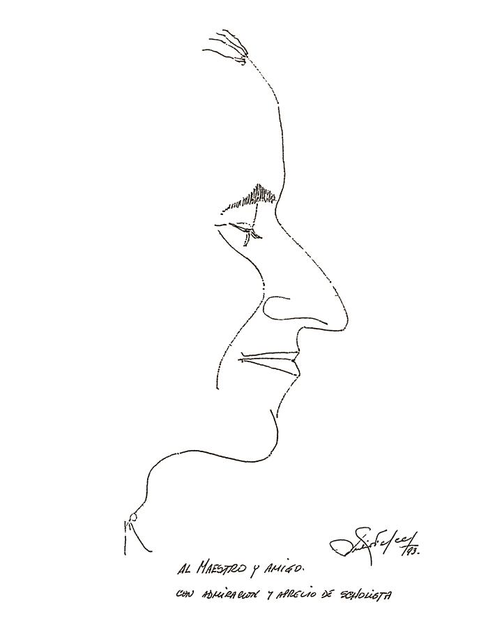 Perfil de Alberto Grau realizado por Julio Felce